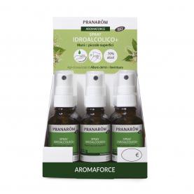 Spray idroalcolcico+ - Espositore 12 pz. - PIENO | Pranarôm