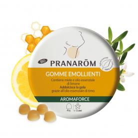 Gomme emollienti - Limone e miele - 45 g | Pranarôm