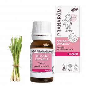 Diffusione Citronella - 10 ml | Pranarôm
