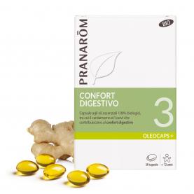 3 - Confort digestivo - 30 capsule | Pranarôm