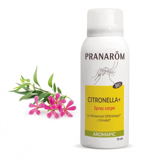 Spray corpo Citronella + - 75 ml   Pranarôm